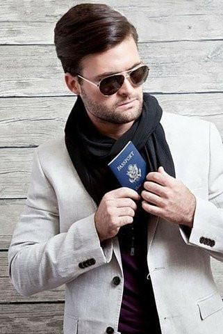 Image result for INFINITY SCARF with pocket for men