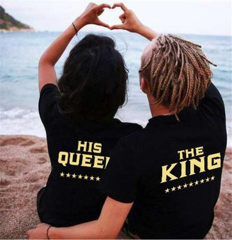 2018 The King & Her Queen Shirts
