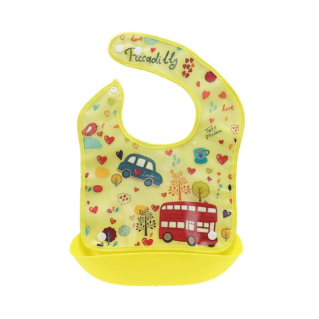 Premium Baby Bib Food Catcher