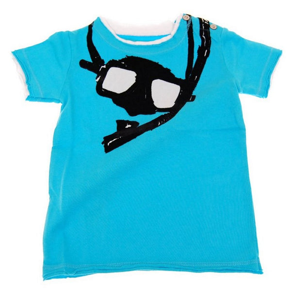 Snorkel Baby Shirt by: Mini Shatsu