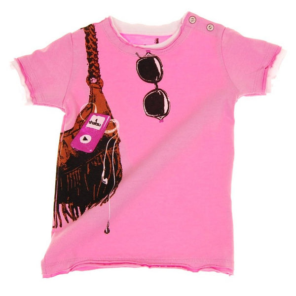 Shopping & Music Baby T-Shirt by: Mini Shatsu