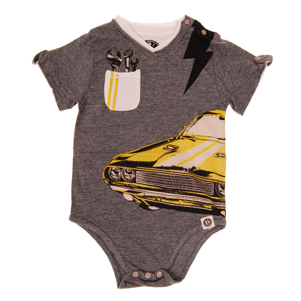 Muscle Car Bodysuit by: Mini Shatsu