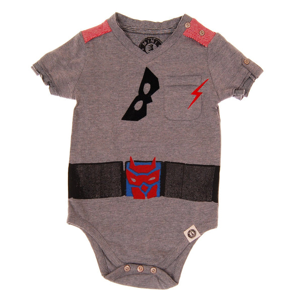 Super Hero Cape Bodysuit by: Mini Shatsu