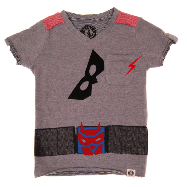 Super Hero Cape T-Shirt by: Mini Shatsu