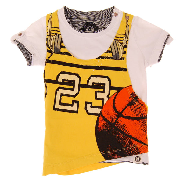Tank Top Bballer T-Shirt by: Mini Shatsu