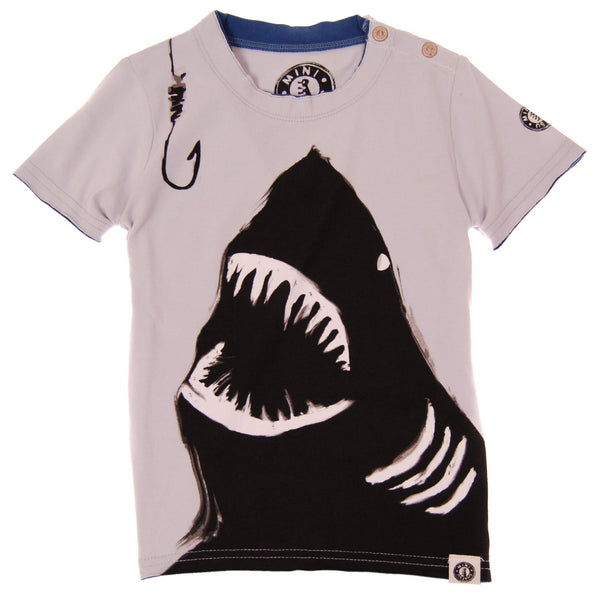 Shark Bite Shirt by: Mini Shatsu