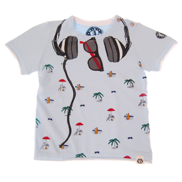 Poolside DJ Baby T-Shirt by: Mini Shatsu