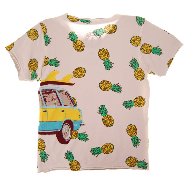 Surf Wagon Baby T-Shirt by: Mini Shatsu