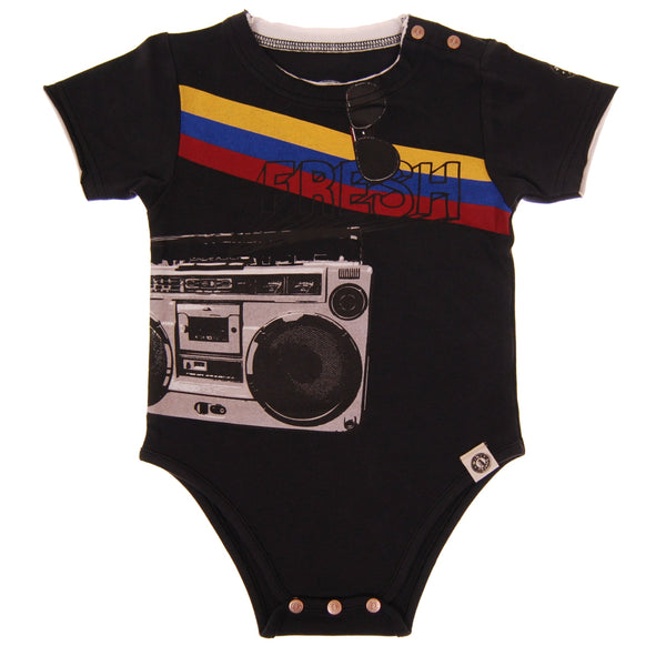 Fresh Boombox Bodysuit by: Mini Shatsu