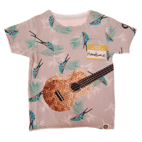 Aloha Ukulele Baby T-Shirt by: Mini Shatsu