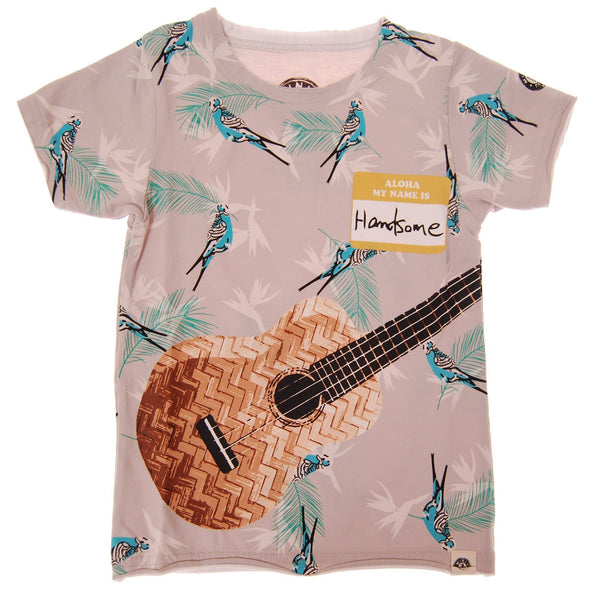Aloha Ukulele T-Shirt by: Mini Shatsu