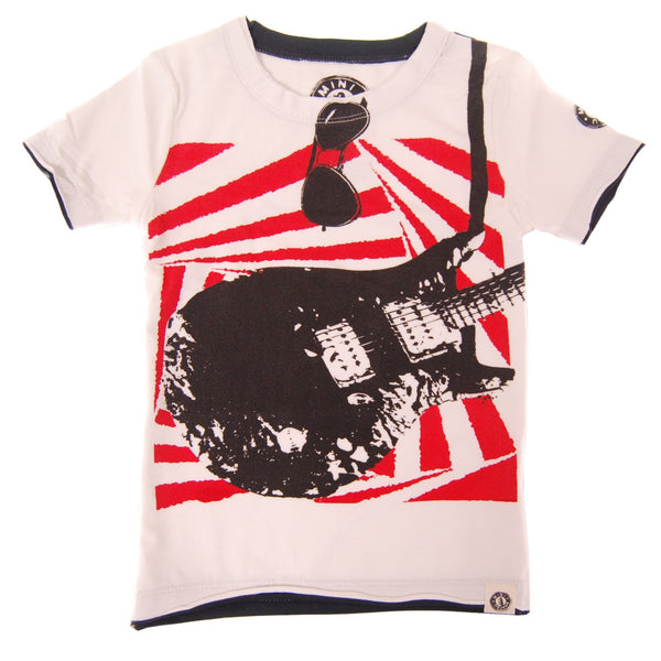 Electric Guitar Baby T-Shirt by: Mini Shatsu