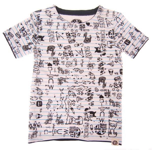 Doodle Baby T-Shirt by: Mini Shatsu