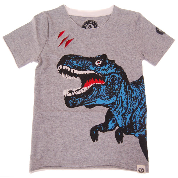 Dino Attack T-Shirt by: Mini Shatsu