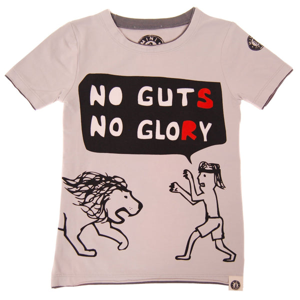 No Guts No Glory T-Shirt by: Mini Shatsu