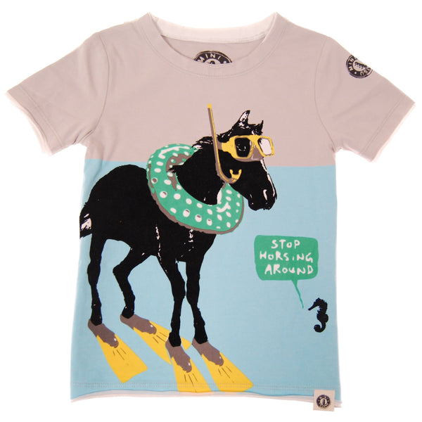 Sea Horsing Around T-Shirt by: Mini Shatsu
