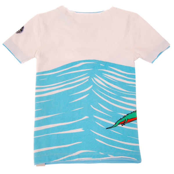 Later Gators Baby T-Shirt by: Mini Shatsu