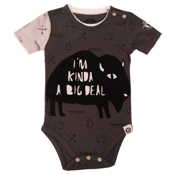Big Deal Buffalo Bodysuit by: Mini Shatsu