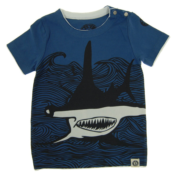 Hammerhead Shark Baby T-Shirt by: Mini Shatsu