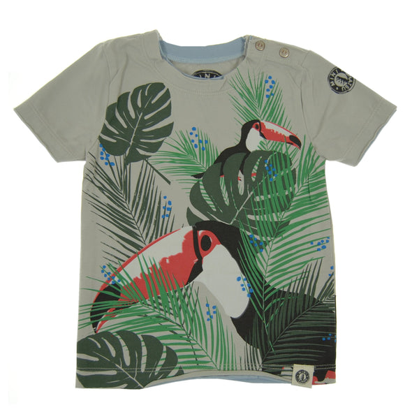 Tropical Toucan Baby T-Shirt by: Mini Shatsu