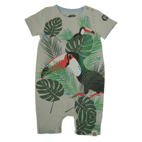 Tropical Toucan Romper by: Mini Shatsu