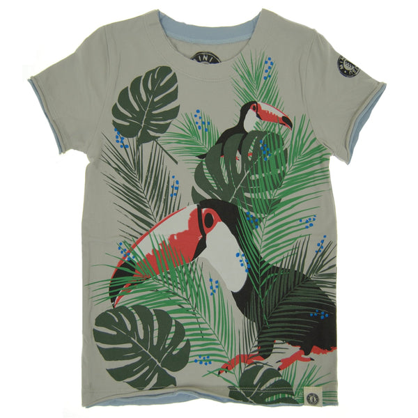 Tropical Toucan T-Shirt by: Mini Shatsu