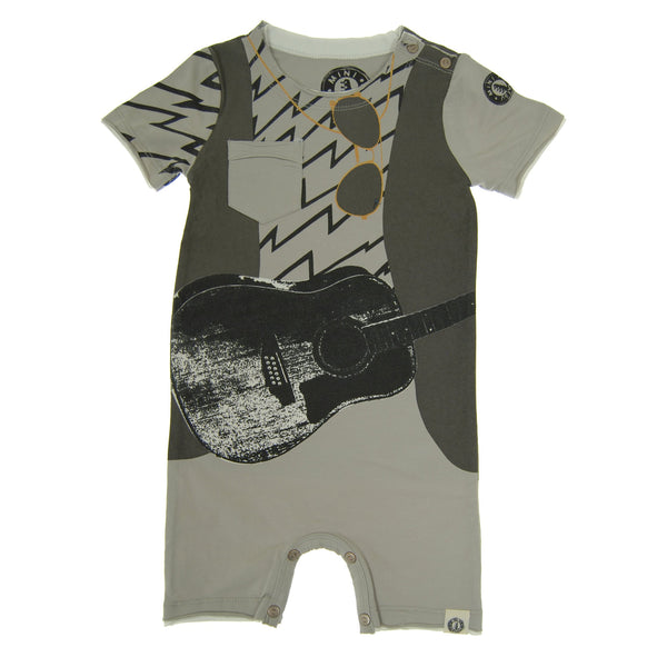 Guitar Vest Romper by: Mini Shatsu