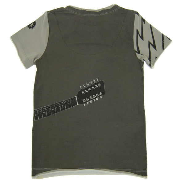 Guitar Vest T-Shirt by: Mini Shatsu