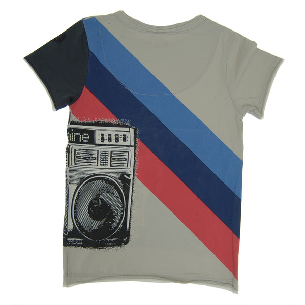 Boombox Dance Machine T-Shirt by: Mini Shatsu