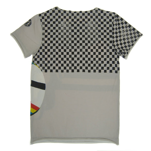 Checker Racer T-Shirt by: Mini Shatsu