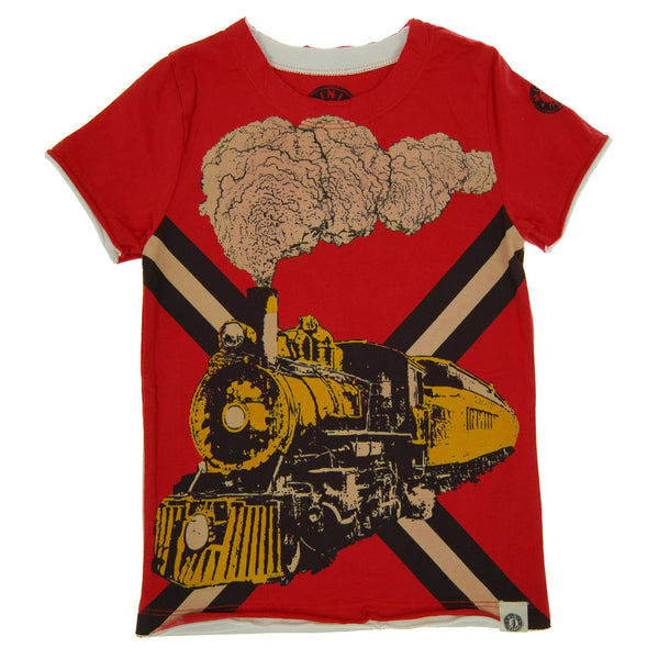 Vintage Train T-Shirt by: Mini Shatsu