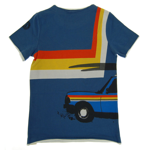 Vintage Surf Wagon T-Shirt by: Mini Shatsu
