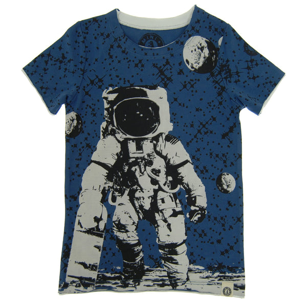 Skater Astronaut T-Shirt by: Mini Shatsu