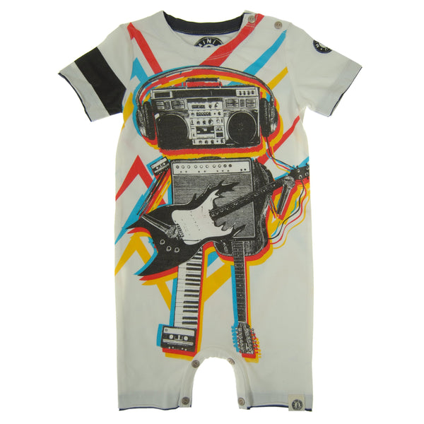 Music Robot Romper by: Mini Shatsu