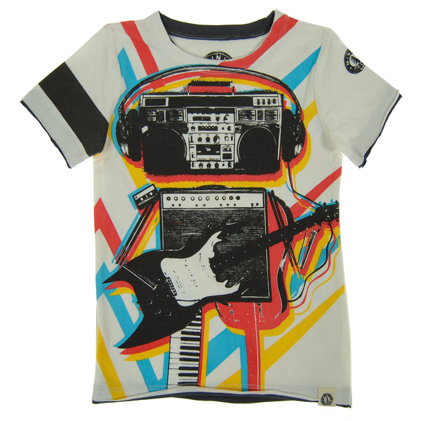 Music Robot T-Shirt by: Mini Shatsu