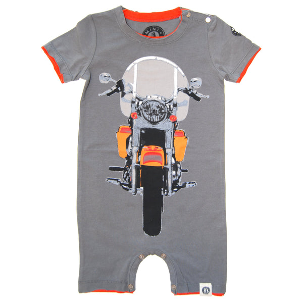 Vintage Motorcycle Cruiser Romper by: Mini Shatsu