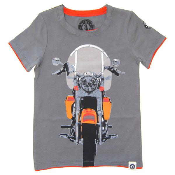Vintage Motorcycle Cruiser T-Shirt by: Mini Shatsu