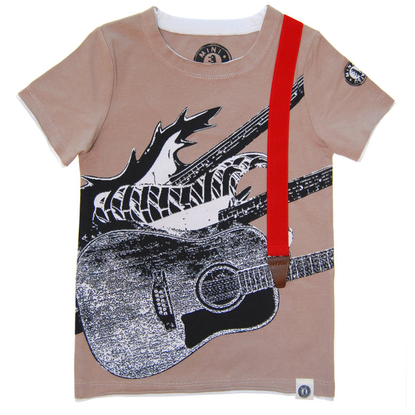 Guitar Trio T-Shirt by: Mini Shatsu