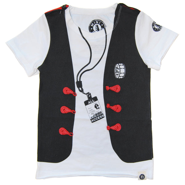 The Band Vest T-Shirt by: Mini Shatsu