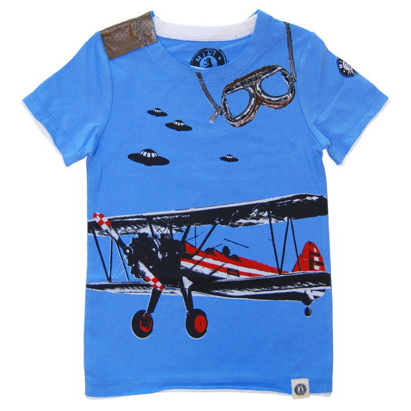 Vintage Airplane T-Shirt by: Mini Shatsu
