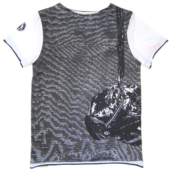 Bow Tie Golfer Vest T-Shirt by: Mini Shatsu