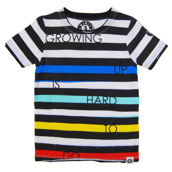Growing Up Is Hard T-Shirt by: Mini Shatsu