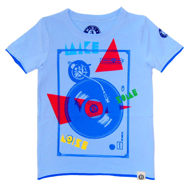 Make Some Noise DJ T-Shirt by: Mini Shatsu