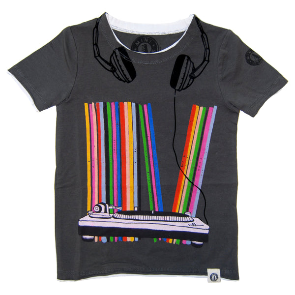 Vinyl Collection Baby T-Shirt by: Mini Shatsu