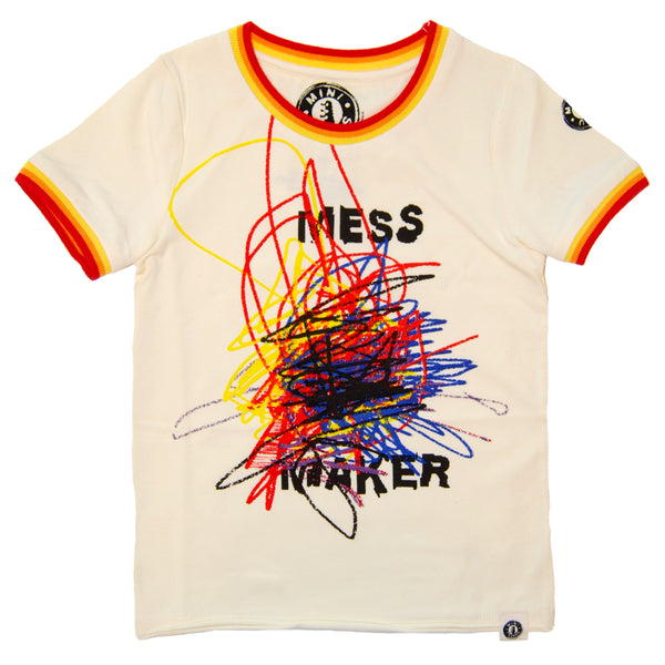 Mess Maker T-Shirt by: Mini Shatsu
