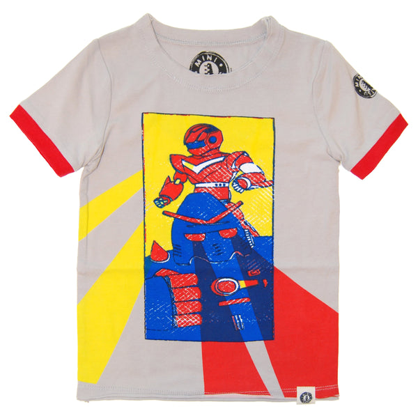 Vintage Robots Baby T-Shirt by: Mini Shatsu