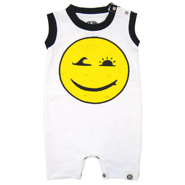 Happy Surfing Romper by: Mini Shatsu