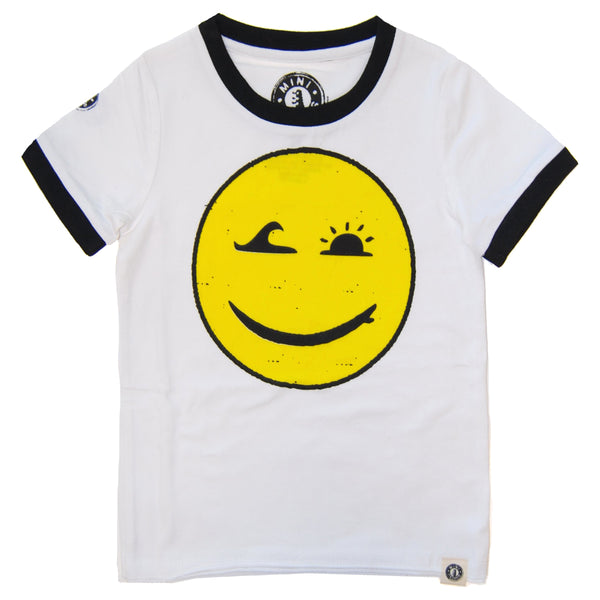 Happy Surfing Baby T-Shirt by: Mini Shatsu