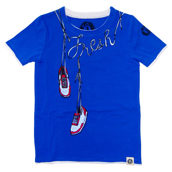 Fresh Kicks T-Shirt by: Mini Shatsu