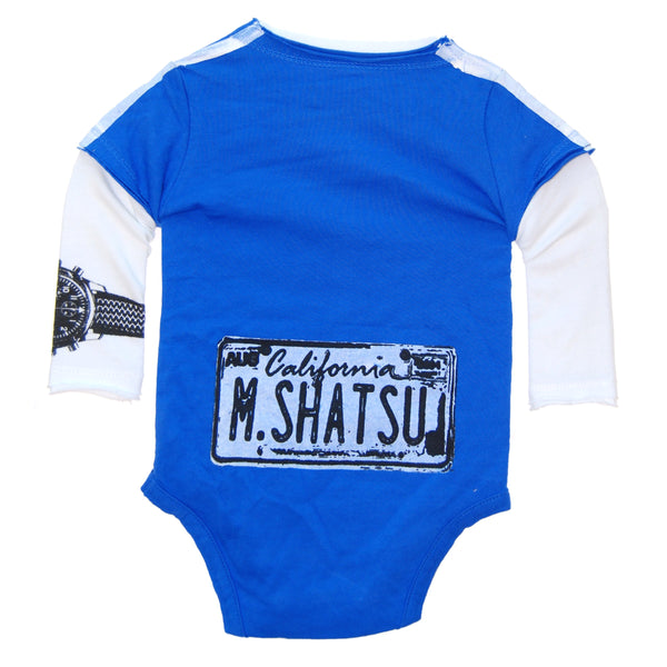 Speedster Long Sleeve Bodysuit by: Mini Shatsu